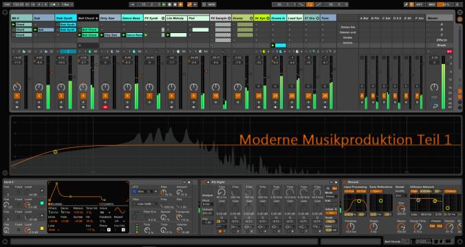 Moderne Musikproduktion Teil 1_Cover