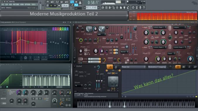 Moderne Musikproduktion Teil 2_Cover
